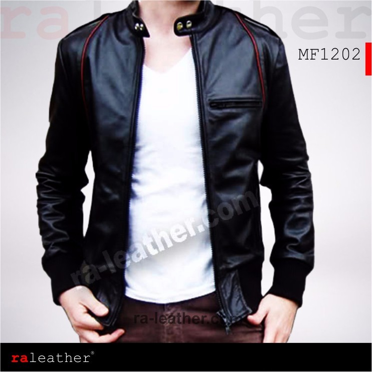 Jaket Kulit Pria » Jaket Kulit Pria MF1202 • Jaket Kulit RA Leather ... ad76d44d34