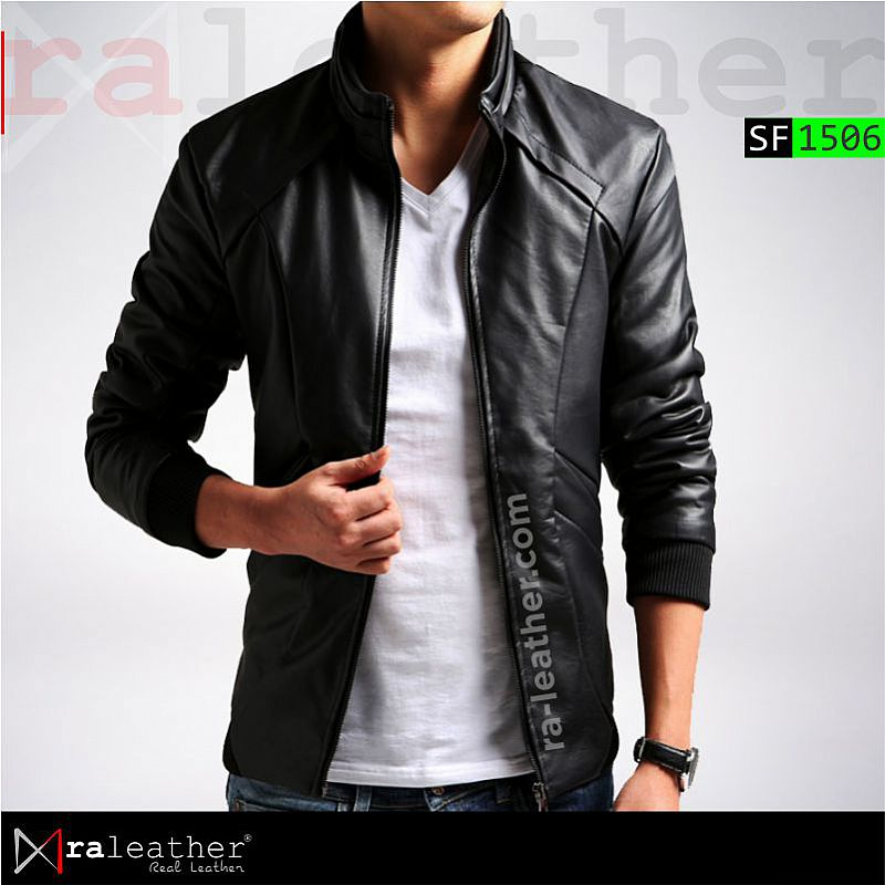 Jaket Kulit Slim Fit SF1506