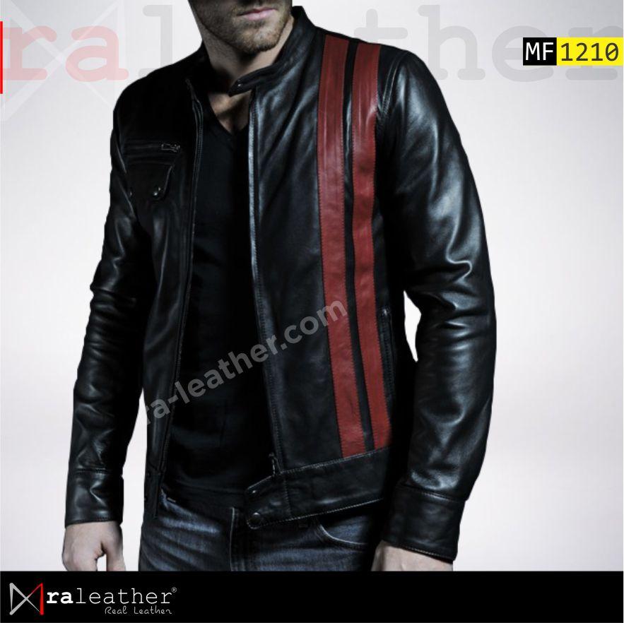 80 Desain Jaket Kulit Yang Bagus Terbaik