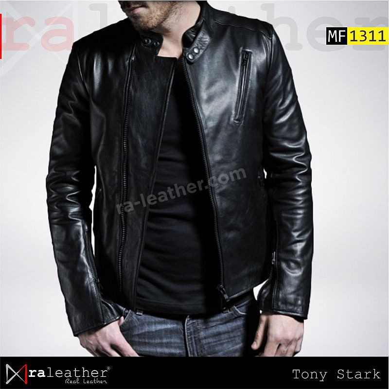 Jaket Kulit MF1311 Iron Man - Tony Stark