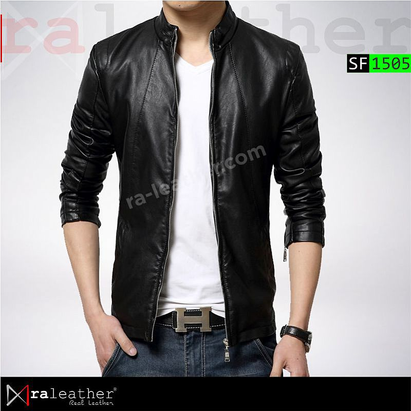 Jaket Kulit Slim Fit SF1505