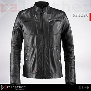 Jaket Kulit MF1226 James T. Kirk
