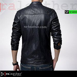 Jaket Kulit Slim Fit SF1504