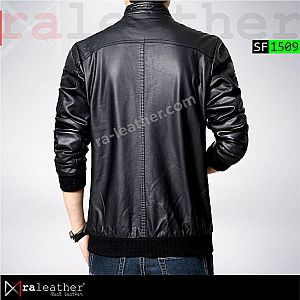 Jaket Kulit Slim Fit SF1509