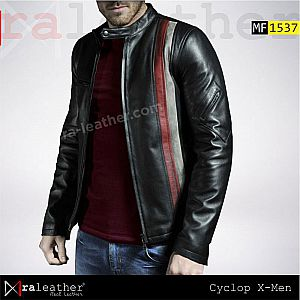 Jaket Kulit MF1537  Cyclop X-Men